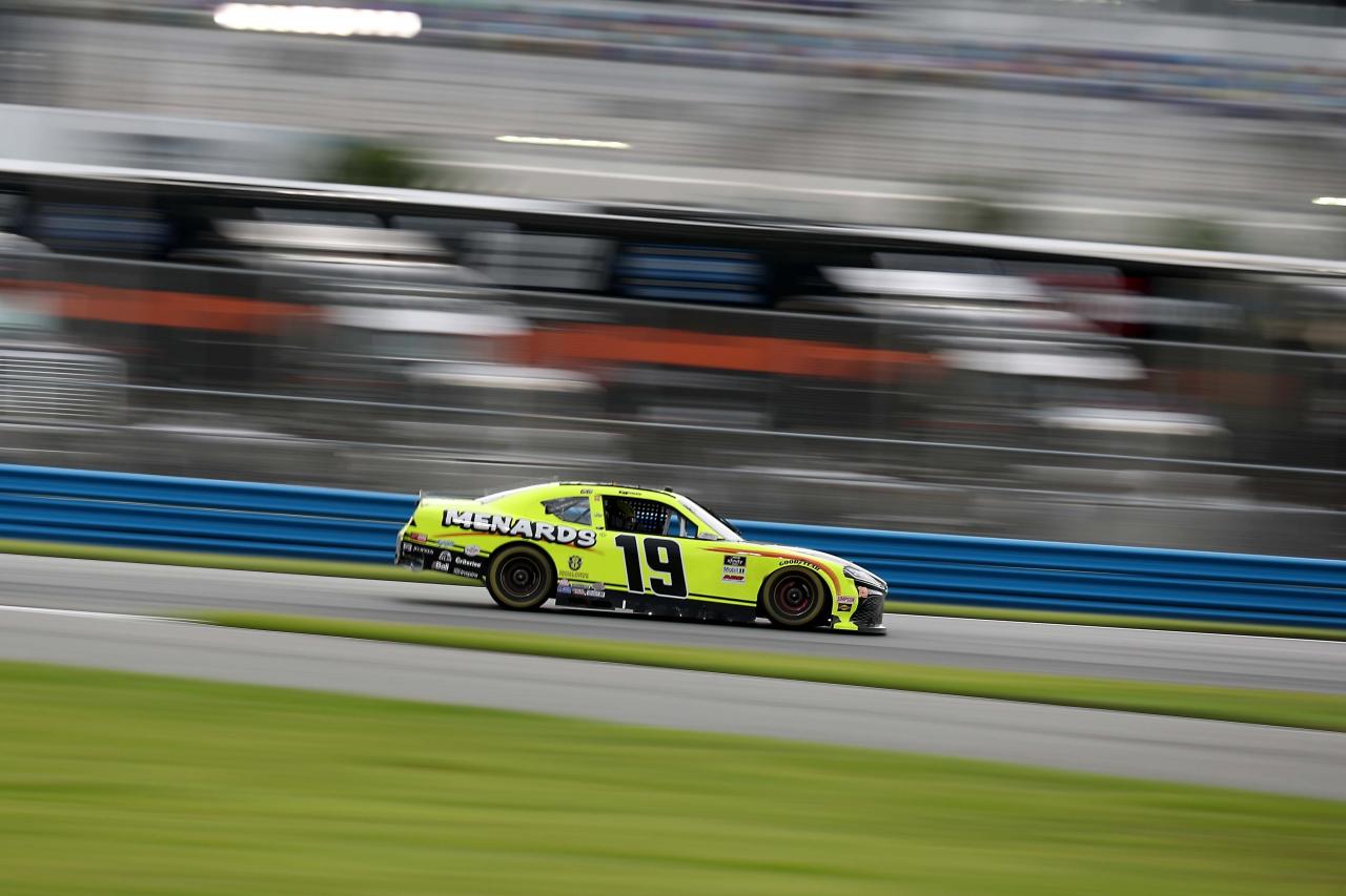 Brandon Jones on the Daytona Road Course - NASCAR Xfinity Series