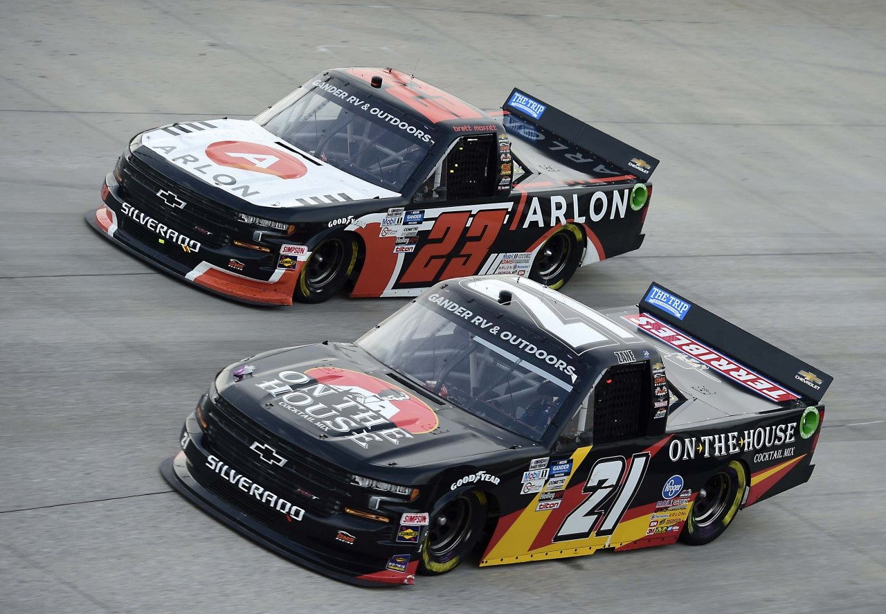 Brett Moffitt and Brett Moffitt - NASCAR Truck Series at Dover International Speedway