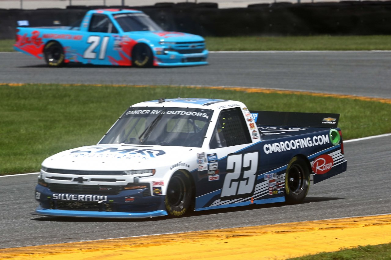 Brett Moffitt on the Daytona Road Course - NASCAR Truck Series