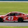 Bubba Wallace on the Daytona Road Course - NASCAR Cup Series - Doordash paint scheme