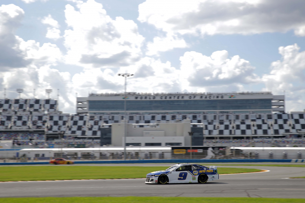 Chase Elliott on the Daytona Road Course - NASCAR Cup Series