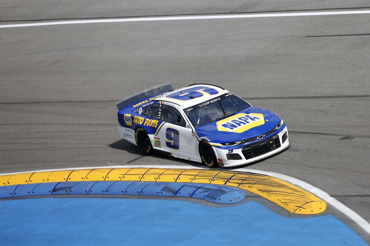 Chase Elliott on the Daytona Road Course - NASCAR Cup Series 2