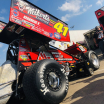 David Gravel at Knoxville Raceway - World of Outlaws