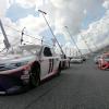 Denny Hamlin and Martin Truex Jr on the Daytona Road Course - NASCAR Cup Series
