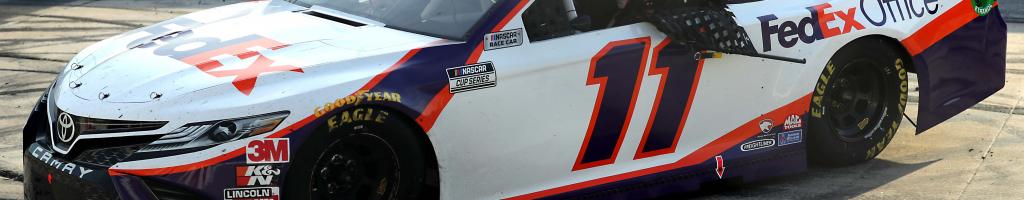 Denny Hamlin renews with Joe Gibbs Racing; FedEx extends NASCAR sponsorship