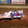Hudson O'Neal in the air at Florence Speedway - Lucas Oil Late Model Dirt Series 1428