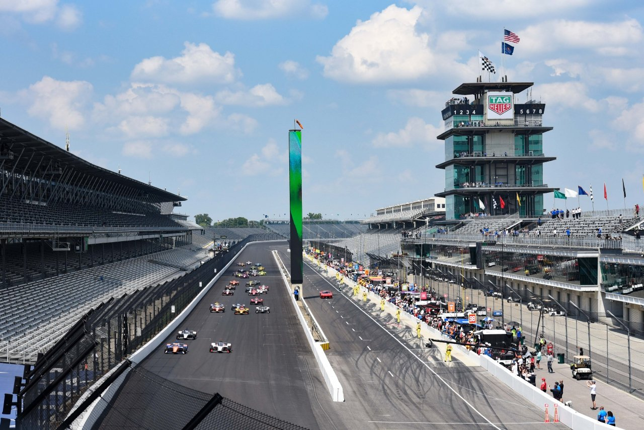 Indy 500 at Indianapolis Motor Speedway - Indycar Series