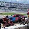 JJ Yeley - NASCAR pit stop on the Daytona Road Course