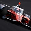 James Hicnhcliffe at the Indianapolis Motor Speedway - Indycar Series