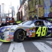 Jimmie Johnson in New York City - NASCAR Cup Series