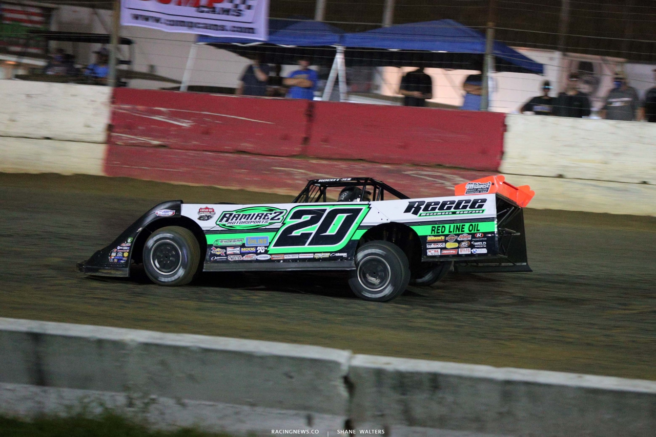 Jimmy Owens at Batesville Motor Speedway - Topless 100 - Lucas Oil Late Model Dirt Series 1773