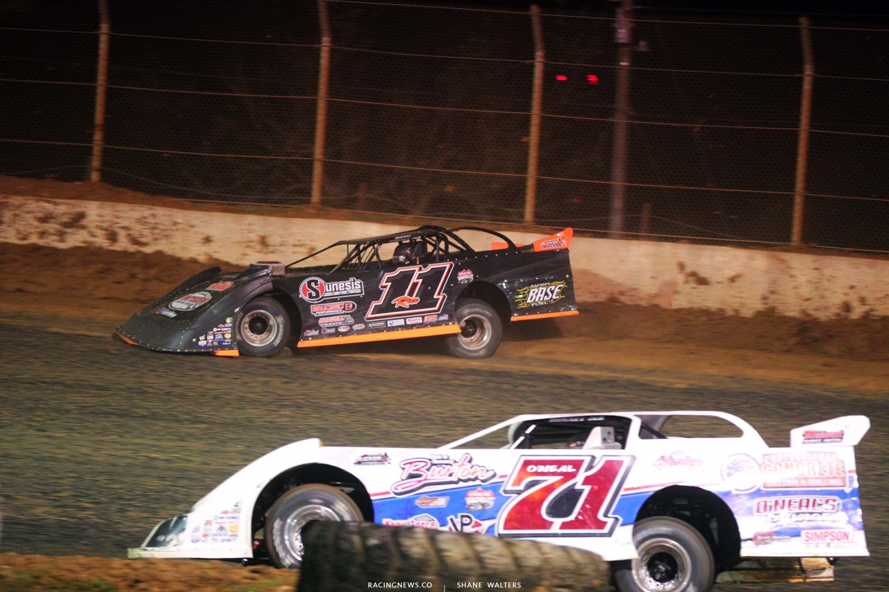 Josh Rice at Florence Speedway - Dirt Track Racing 1627