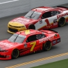 Justin Allgaier and Michael Annett on the Daytona Road Course - NASCAR Xfinity Series - JR Motorsports