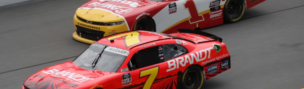 Michael Annett fails post-race inspection at Talladega Superspeedway