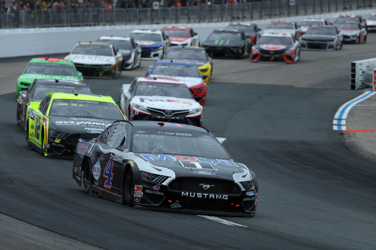 Kevin Harvick at New Hampshire Motor Speedway - NASCAR Cup Series
