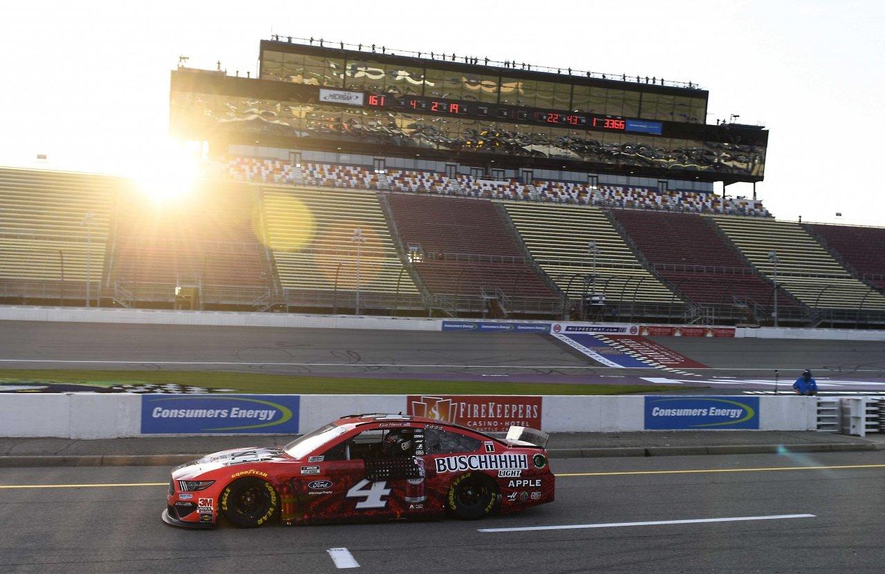 Kevin Harvick winner at Michigan International Speedway - Richard Childress Racing - NASCAR Cup Series