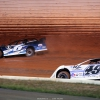 Kyle Larson and Jonathan Davenport at Port Royal Speedway - Lucas Oil Late Model Dirt Series 2359