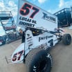 Kyle Larson at Knoxville Raceway 2 - World of Outlaws