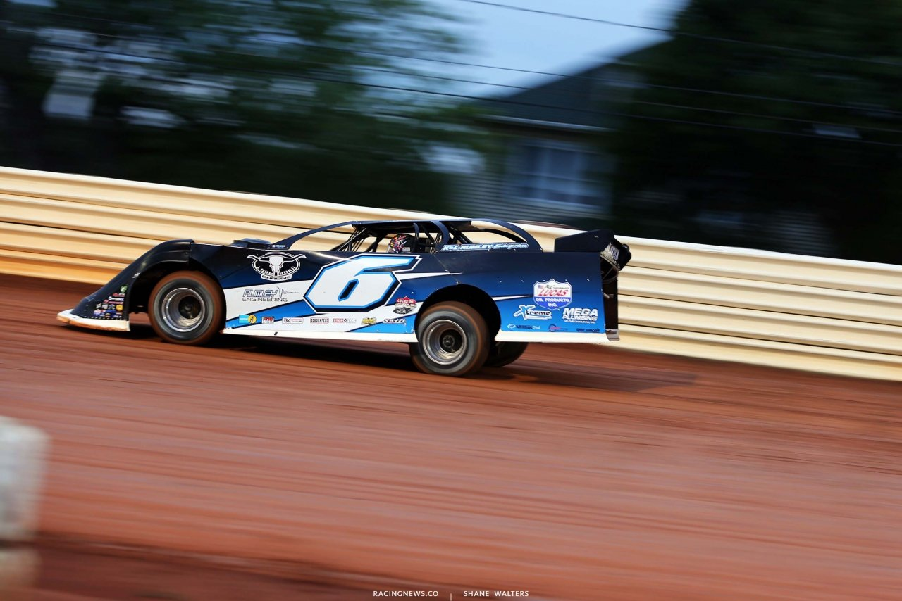Kyle Larson at Port Royal Speedway - Dirt Late Model 2693