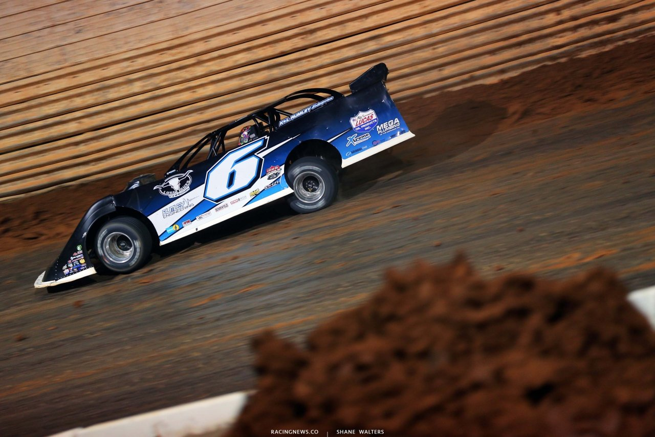 Kyle Larson at Port Royal Speedway - Dirt Late Model 2809