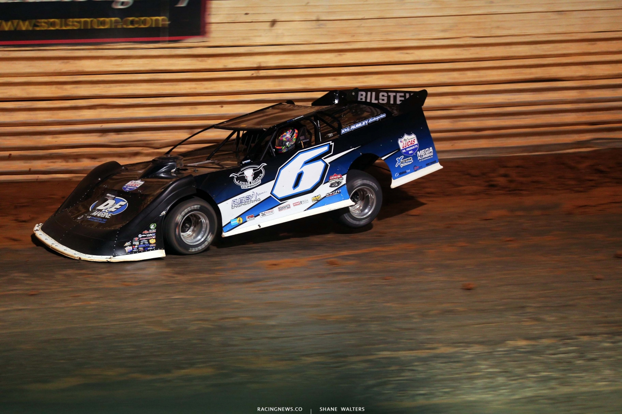 Kyle Larson at Port Royal Speedway - Dirt Late Model Racing - Lucas Oil Series 2914