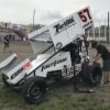 Kyle Larson at River Cities Speedway - World of Outlaws Sprint Car Series