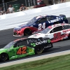 Matt Kenseth, Martin Truex Jr and William Byron at New Hampshire Motor Speedway - NASCAR Cup Series