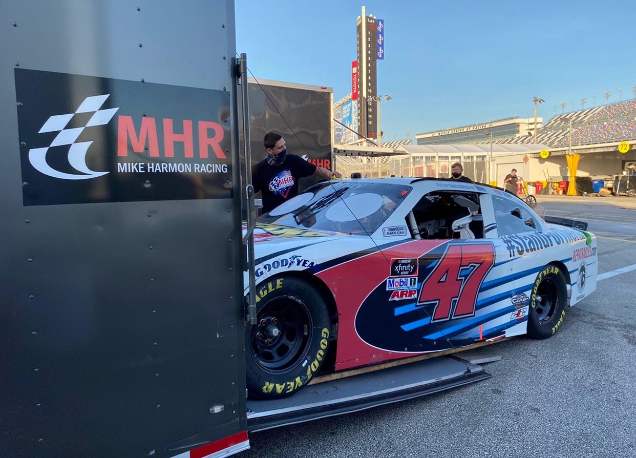 Mike Harmon Racing - Car Stolen