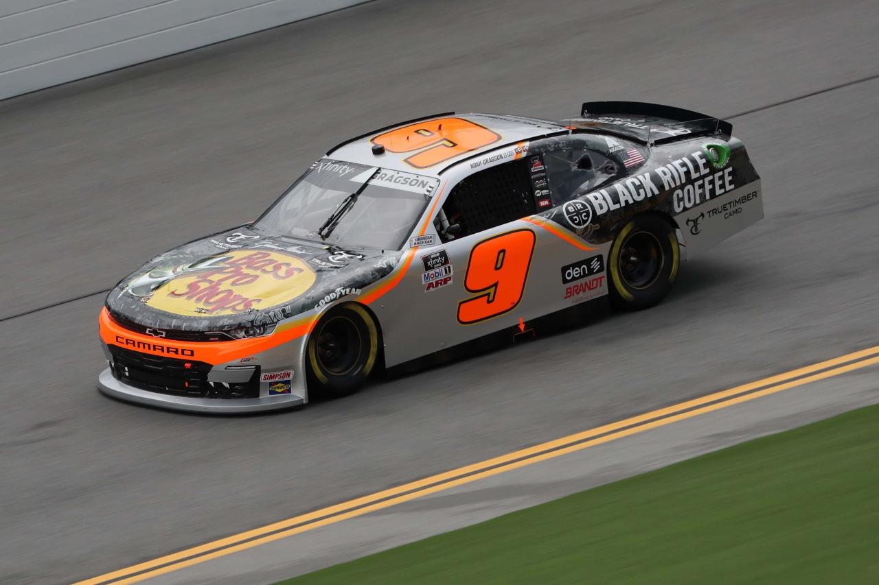 Noah Gragson on the Daytona Road Course - NASCAR Xfinity Series