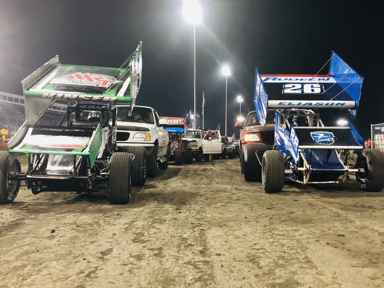 One and Only - Knoxville Raceway - World of Outlaws Sprint Car Series
