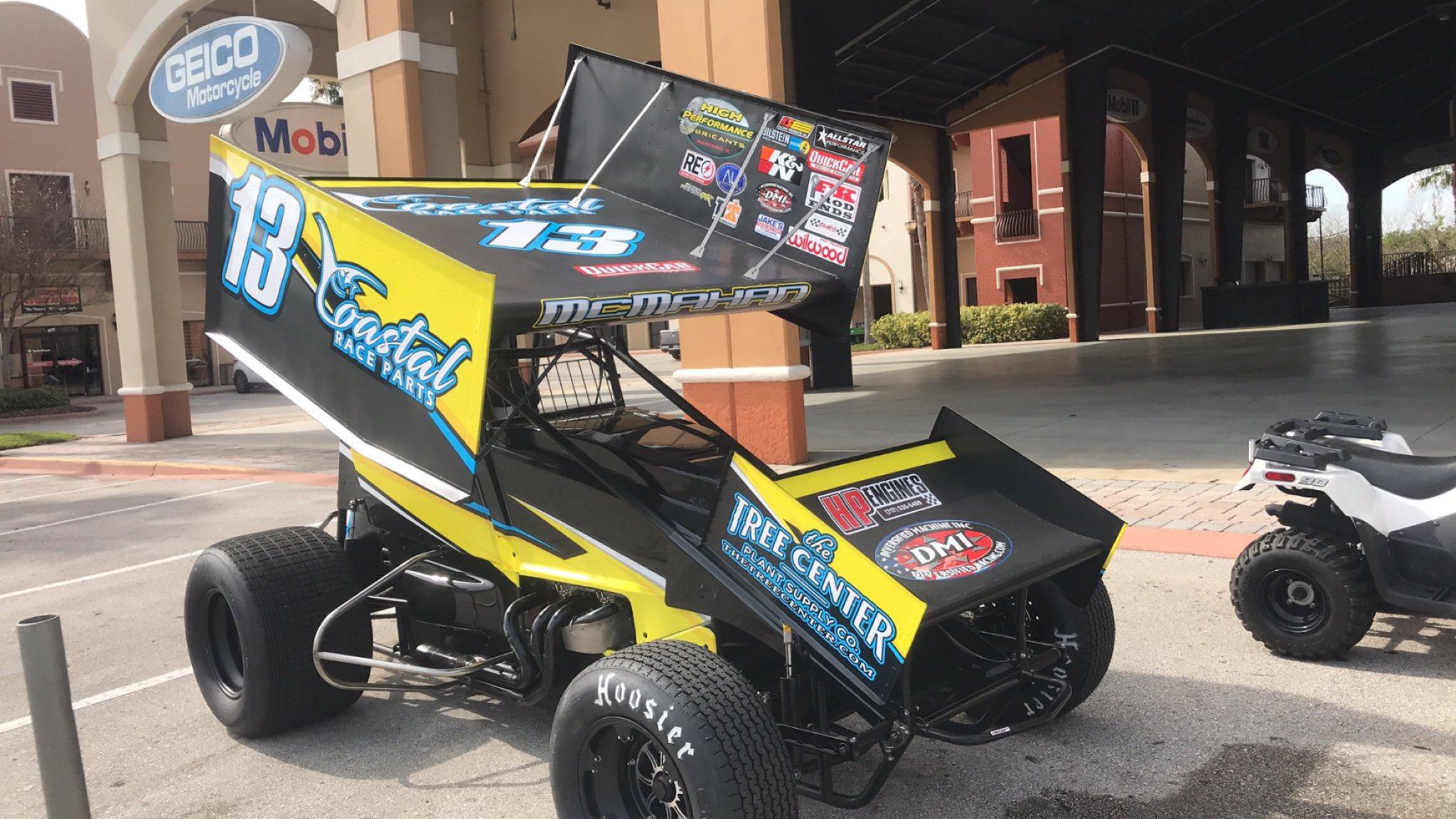 Paul McMahan - Dirt sprint car