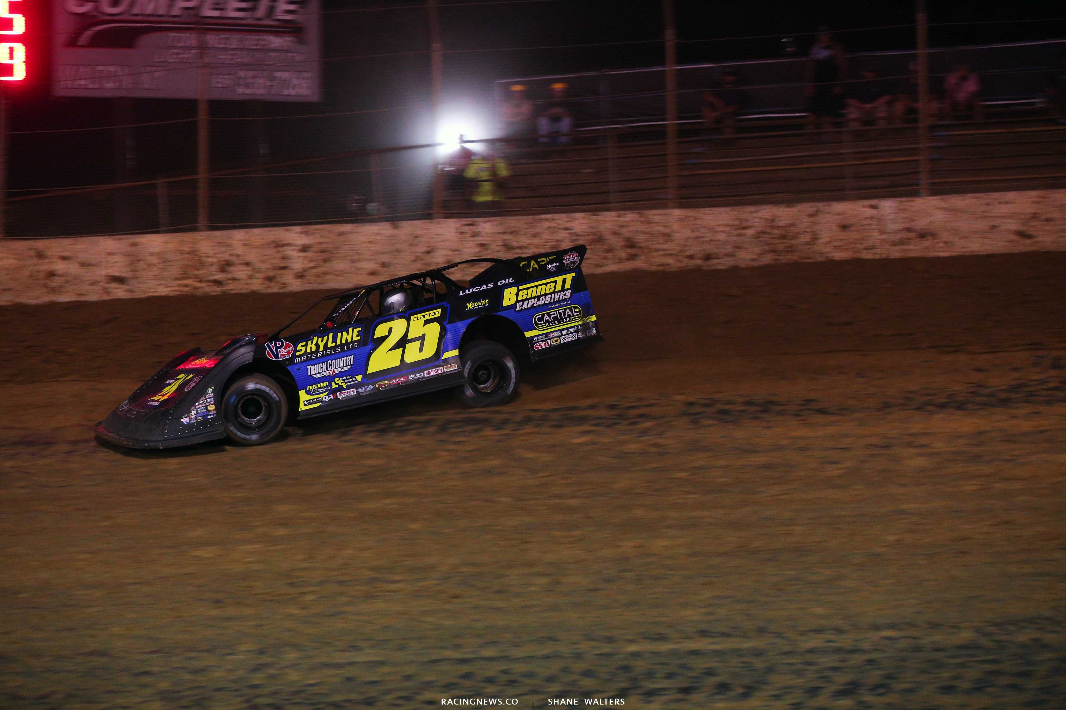 Shane Clanton at Florence Speedway - Lucas OIl Late Model 0810
