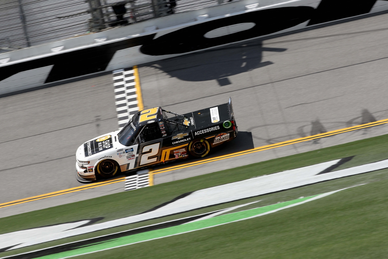 Sheldon Creed on the Daytona Road Course - NASCAR Truck Series