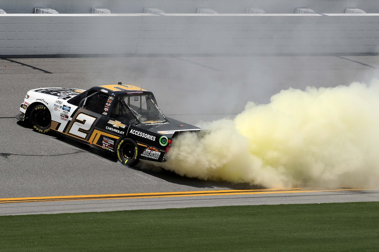 Sheldon Creed wins on the Daytona Road Course - NASCAR Truck Series