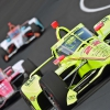 Simon Pagenaud at the Indianapolis Motor Speedway - Indycar Series