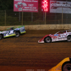 Tyler Erb and Bobby Pierce at Florence Speedway - Dirt Late Model Racing 0838
