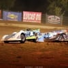 Tyler Erb in the air at Florence Speedway - Dirt Late Model 1437