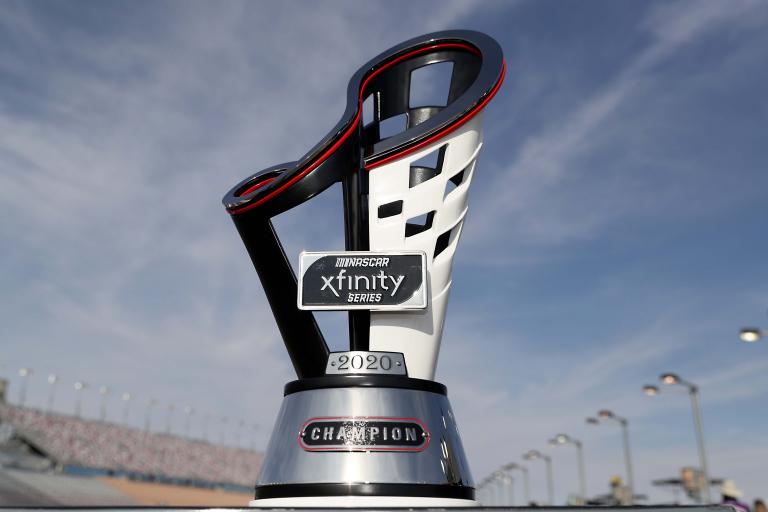 2020 NASCAR Xfinity Series championship trophy