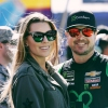 Ashley Busch and Kurt Busch - NASCAR