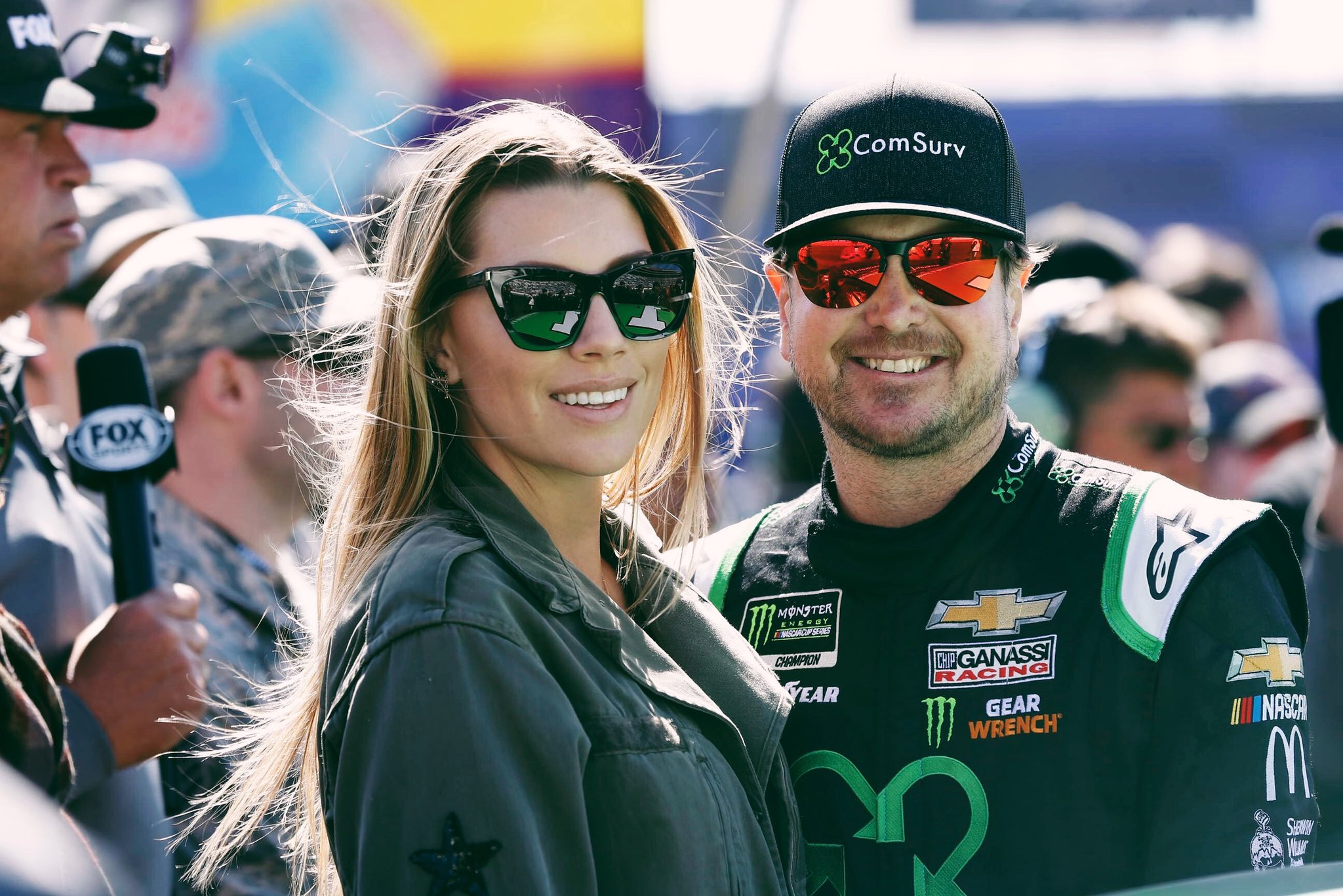 Ashley Busch, wife of NASCAR driver submits Sports Illustrated Swim Edition audition video