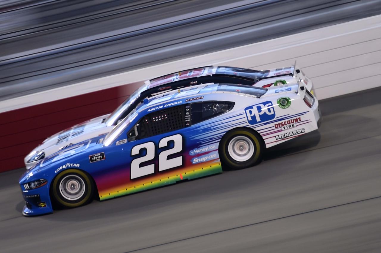 Austin Cindric and Harrison Burton at Richmond Raceway - NASCAR Xfinity Series
