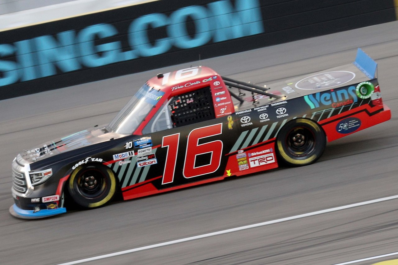 Austin Hill at Las Vegas Motor Speedway - NASCAR Truck Series