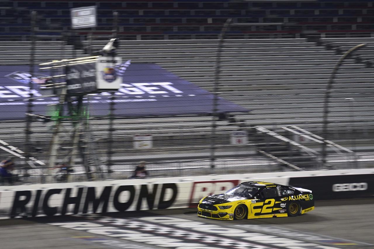 Brad Keselowski wins at Richmond Raceway - NASCAR Cup Series