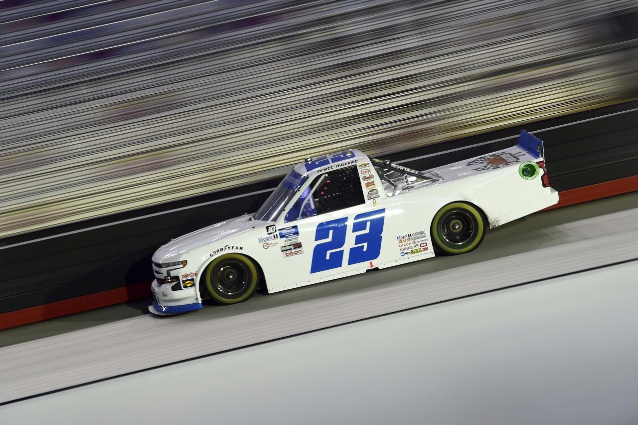 Brett Moffitt at Bristol Motor Speedway - NASCAR Truck Series