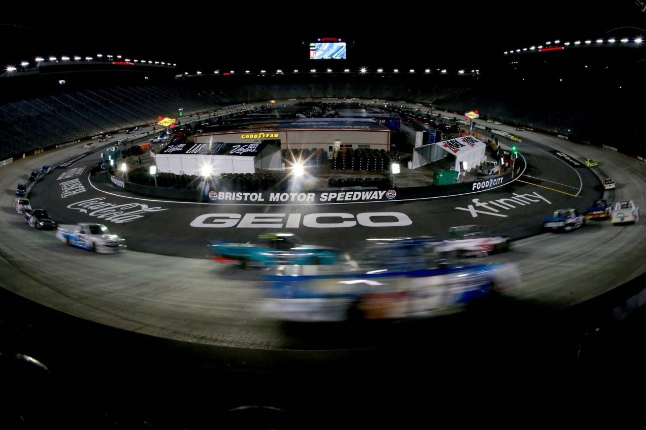 Bristol Motor Speedway - NASCAR Truck Series - Motion Blur