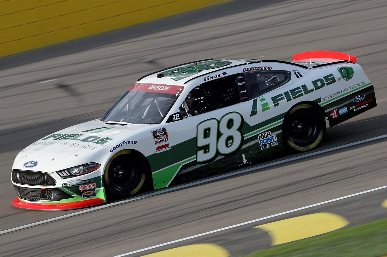 Chase BRiscoe at Las Vegas Motor Speedway - NASCAR Xfinity Series