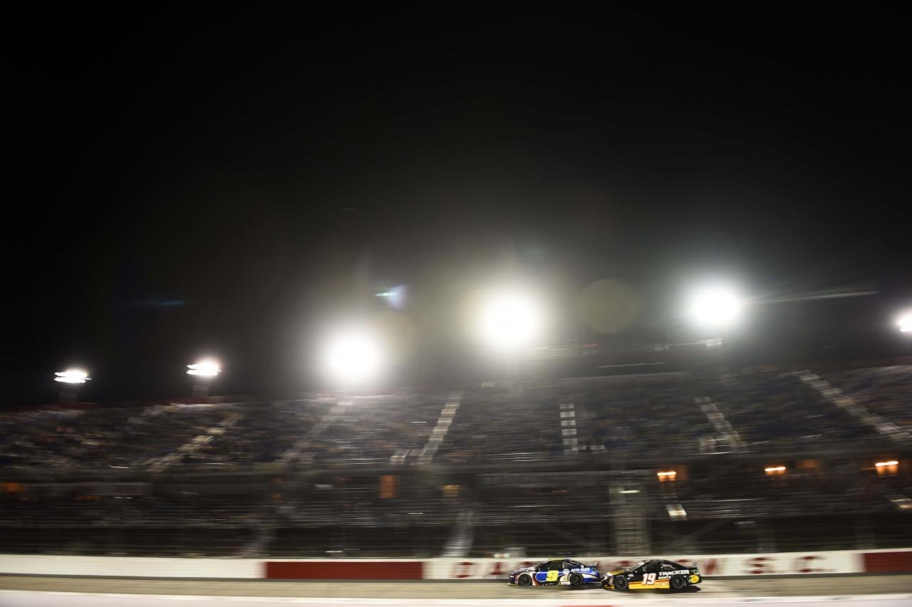 Chase Elliott and Martin Truex Jr at Darlington Raceway - NASCAR Cup Series