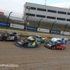 Darrell Lanigan, Kyle Strickler, Jimmy Owens and Brandon Overton at Eldora Speedway