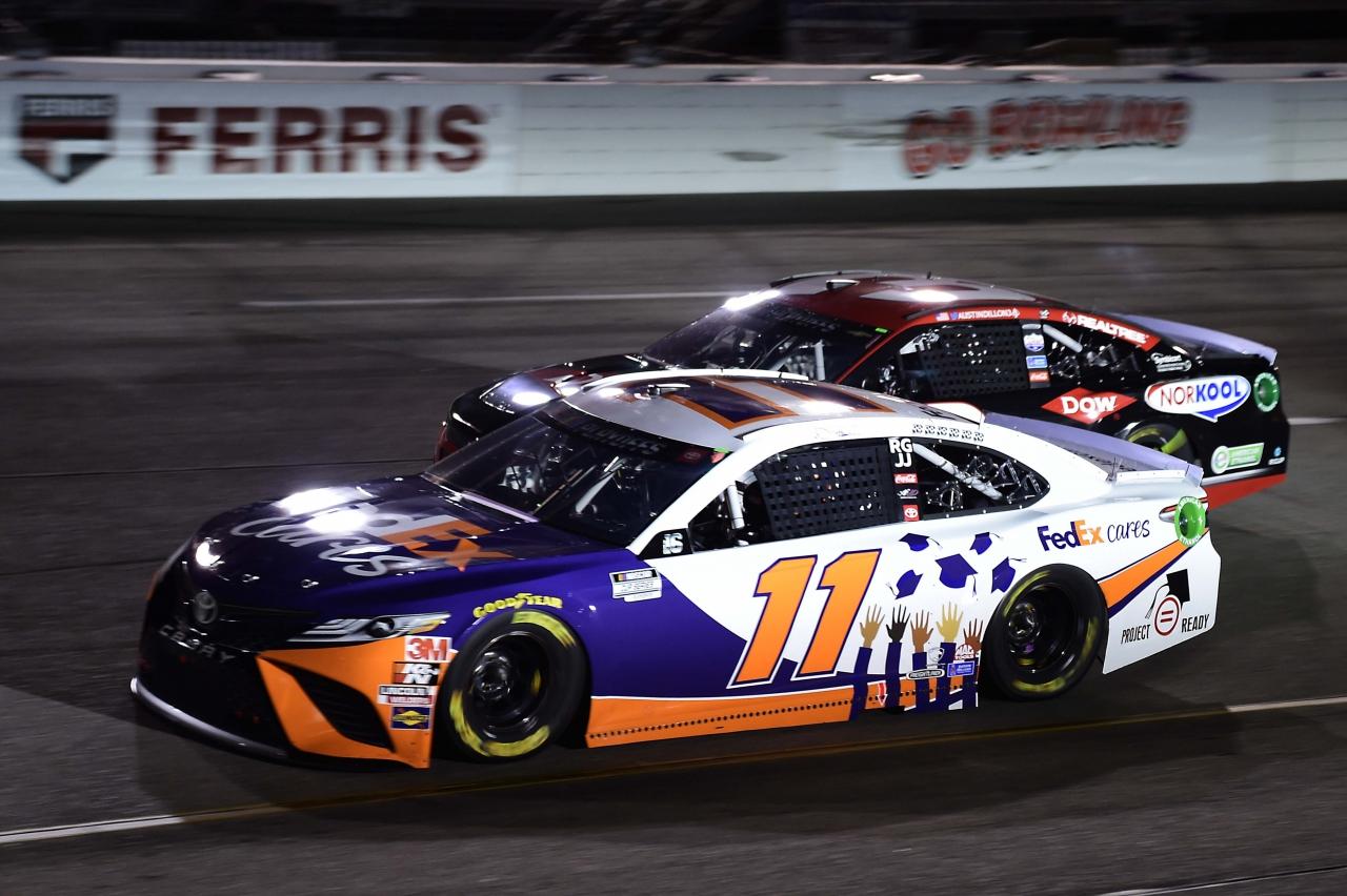 Denny Hamlin and Austin Dillon at Richmond Raceway - NASCAR Cup Series