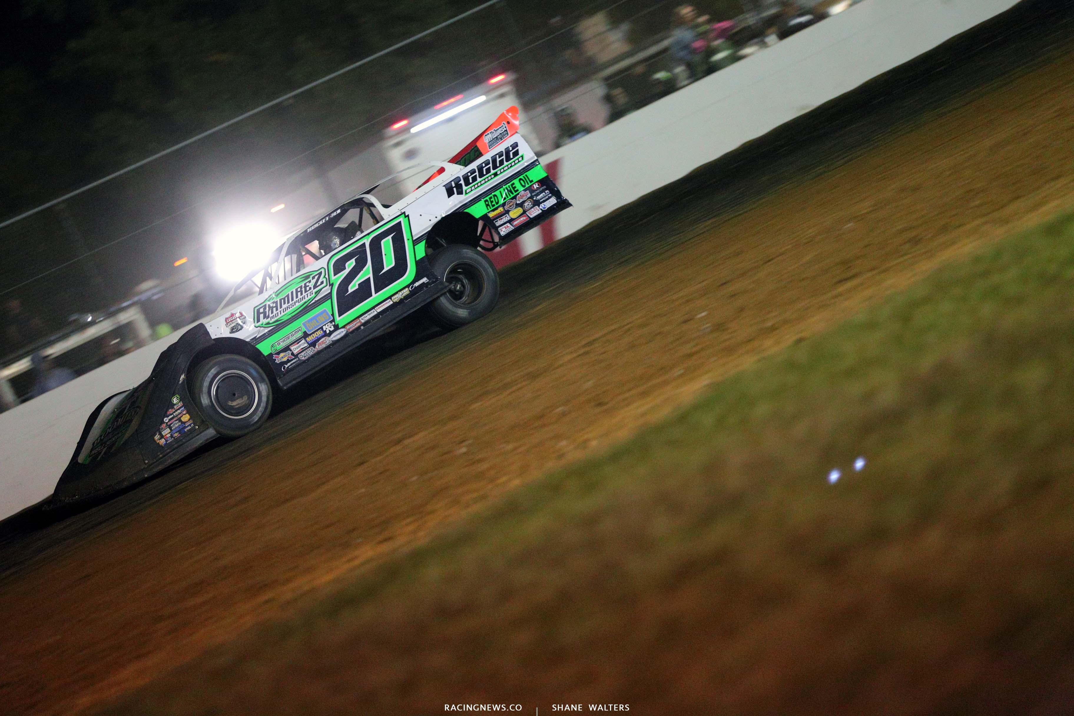 Jimmy Owens at Brownstown Speedway - LOLMDS 4644